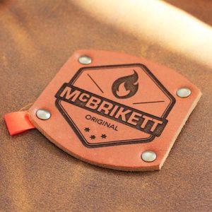 Grillschürze von McBrikett aus Leder