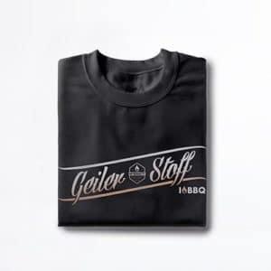 T-Shirt von McBrikett schwarz Herren Geiler Stoff
