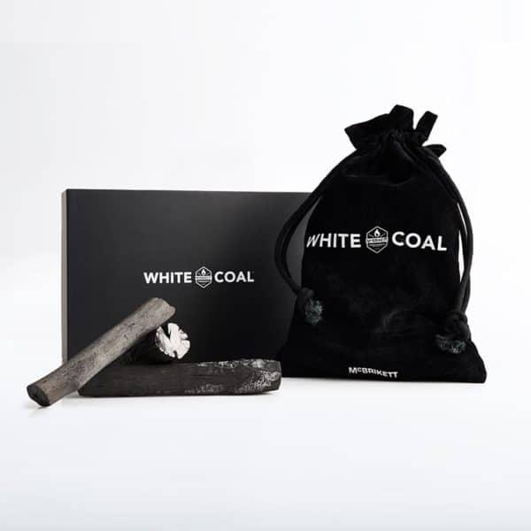 WHITE COAL Binchotan - Premium Holzkohle mit hochwertiger Verpackung
