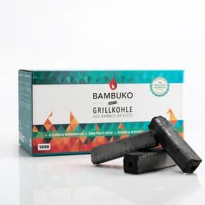 BAMBUKO Grillbriketts aus Bambusspäne von McBrikett