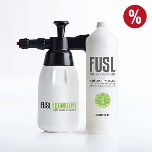 FUSL Foamster und Reiniger 1 Liter im Set