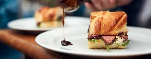 Beef Sandwiches gegrillt mit MARABU HOLZKOHLE