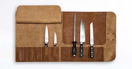 Messertasche aus Leder