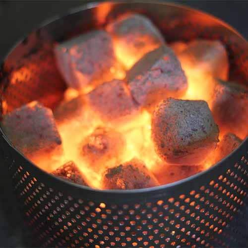 KOKOKO MINI-CUBES Grillkohle für Tischgrill Lotusgrill