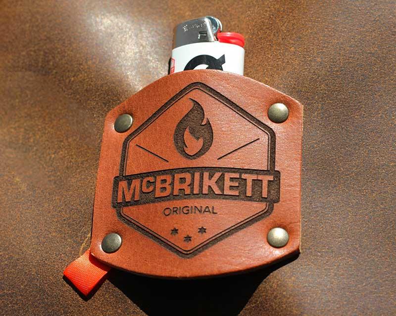 Grillschürze aus Leder von McBrikett