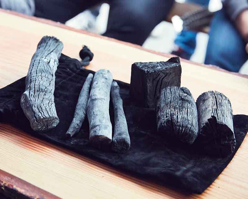 Binchotan WHITE COAL Holzkohle der Extraklasse
