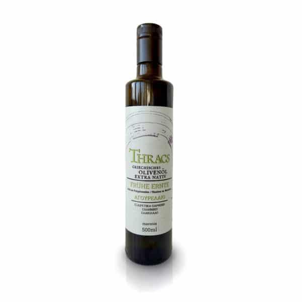 THRACS Premium Olivenöl (Antikleia) - Frühe Ernte 500 ml